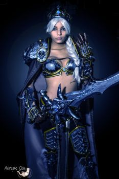 Lady Arthas from World of Warcfrat by AaryaeCosplay