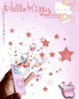 Hello Kitty Ipod by LindseyLightsFires