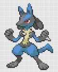 448 Lucario by Electryonemoongoddes