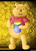 Winnie The Pooh by SuperSmurgger