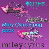 Miley Cyrus png pack by PauLinaEdiitions