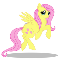 Fluttershy by CordisaWire