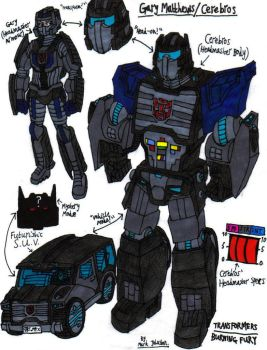 Transformers: Burning Fury - Gary and Cerebros by KrytenMarkGen-0