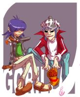 gorillaz by emy-lee69