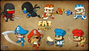 Fat Princess - The New Classes by Sun2DustART