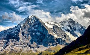 Eiger North Face by bongaloid