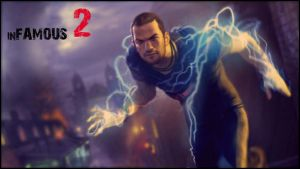inFAMOUS 2 poster by WahaAdnan
