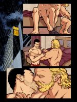 Page 4 of NIGHTLIFE #2, a digital gay erotic comic by DaleLaz