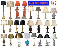 Lamp Collection 2 PNG by amir2012
