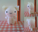 Baby Dragon Plush (FREE PATTERN IN DESCRIPTION) by PokeMasterJaques
