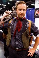 Booker Dewitt at Wondercon 2014 by Forcebewitya