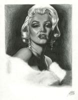 OLD WORK:Reverse Marilyn by lovelyzitalee