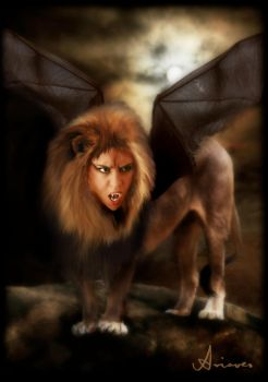 Manticore by Ariaocs