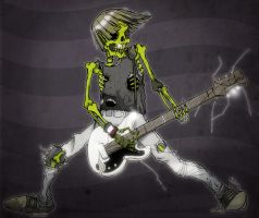 Rock n Roll High Skull by paulorocker