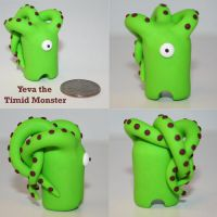 Yeva the Timid Monster by TimidMonsters