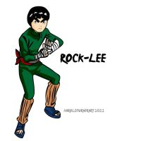 ROCK LEE by HAROLDX
