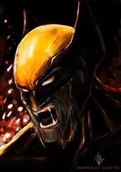 Wolverine by Indrajit03