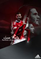 Juan Mata Poster by Tomlew
