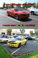Cliffjumper and Bumblebee at the Mall by Leathurkatt-TFTiggy