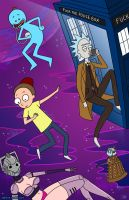 Rick and Morty - Doctor Who Parody by starlinehodge