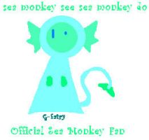 Official sea monkey fan badge by The-sorceress-of-air