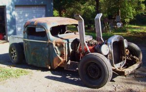 The Rat Rod by CrystalMarineGallery