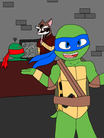 i don't know where is the remote is by TMNT1fan