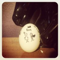 Egg Love by Christina-MissIt-Ann