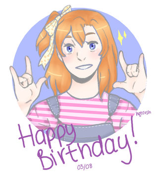 Happy Birthday Honoka by hqtrxsh
