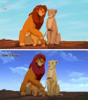 Redo of Lion King 2 by Takadk