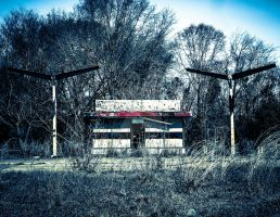 Gas Station by mikeheer