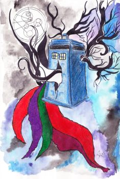 Tardis by cattail13