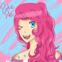 MLP: Pinkie Pie by AgateophobicDetraque