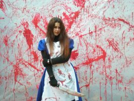 American McGee Alice Cosplay 2012 by BattousaiBlade7