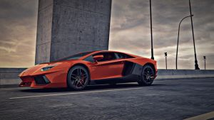 The Aventador by nitingarg