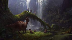 Sung Choi Concept Art Illustration Into The Swamp by Mikealosaurus