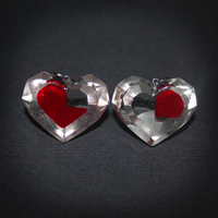 LoZ - Pieces of Heart BFF pendants by SuperSiriusXIII