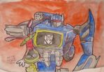 NANODRAWMO 2014 Soundwave and Marvin the Martian by Vampiric-Conure