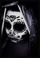 day of the dead makeup by RuthMaryforever