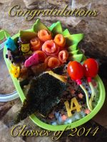 Graduation Bento Class of 2014 by Demi-Plum