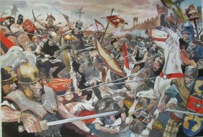 Battle the gallic war by pegasusandco