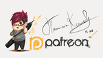 I'm on Patreon! by FlaminiaKennedy