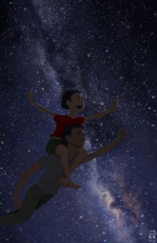 Flight into the stars by simbalm