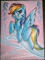 ATC - Rainbow Dash by y2hecate