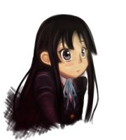 K-ON: Mio Portrait by Dari-Dari