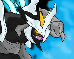 Kyurem (Black) by Saberstar1