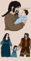Hobbit OC: Bofur, Kelda, and Bofana by TheLastUnicorn1985