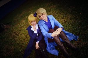 Queen and King of Spades 2 - Cardverse Hetalia by MrCheshire