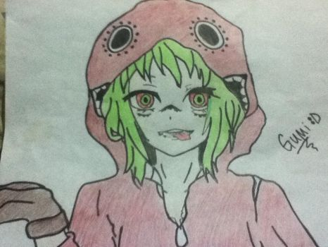 Gumi drawing by sylerslayer