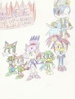 Blaze: Princess of the Sol Islands Poster (1000 U) by mastergamer20